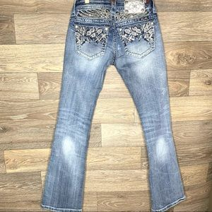 Miss Me Signature Bootcut Embellished Jeans